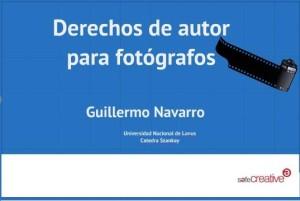 Derechos de autor para fotografos