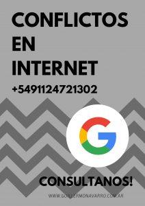 CONFLICTOS EN INTERNET GUILLERMO NAVARRO